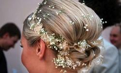 hinreißende Brautfrisur