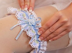 Braut-Accessoires Strumpfband