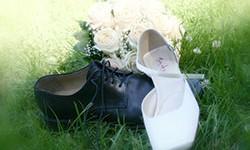 Braut und Bräutigam brauchen spezielle Hochzeitsschuhe