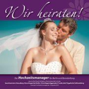 """Titel der Broschüre """"Wir heiraten"""" Ausgabe Strausberg 2018"""